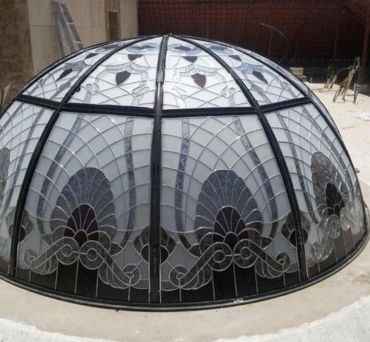 پوشش نورگیر حبابی آماده
