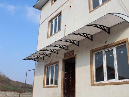 آفتابگیر پنجره چیست؟ کاربرد بارانگیر پنجره در ساختمان