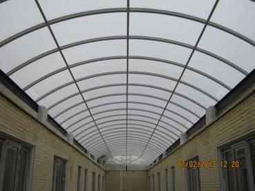 پوشش وید و نورگیر مراکز تجاری و اداری