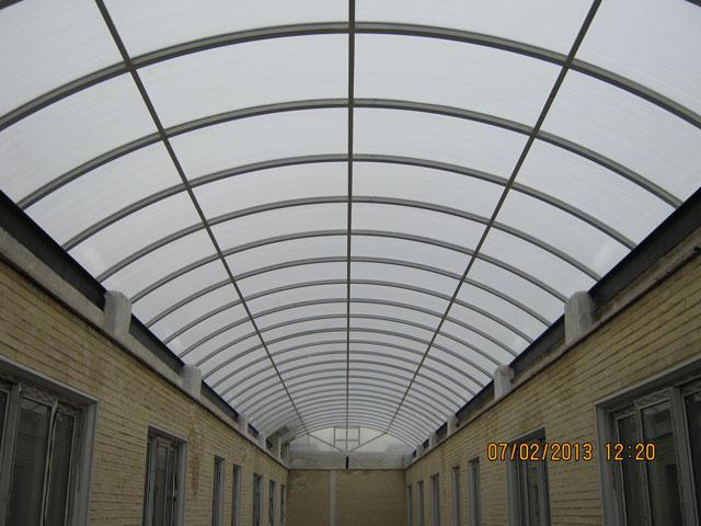 پوشش وید (نورگیر سقفی، گنبدی، قوسی هرمی، حبابی)