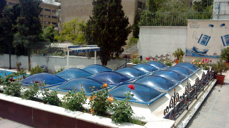 قیمت سقف متحرک استخر