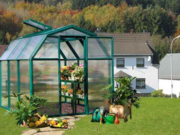 گلخانه خانگی و صنعتی با ورق پلی کربنات