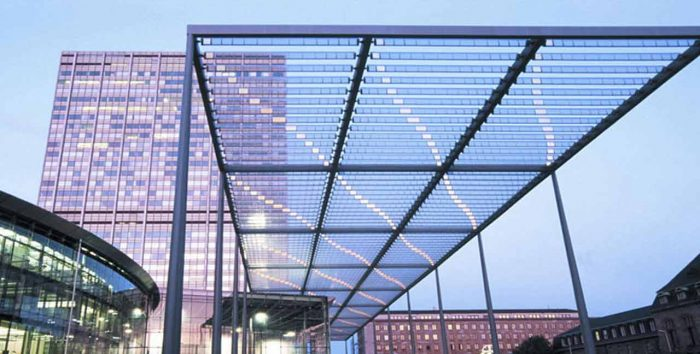 نحوه اجرای سقف پلی کربنات