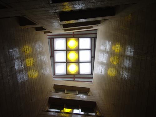 پوشش وید ساختمان با نورگیرحبابی رنگی | تهران