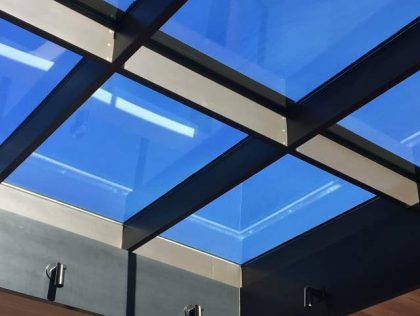 نورگیر ساختمان چیست؟ پوشش سقف نورگیر
