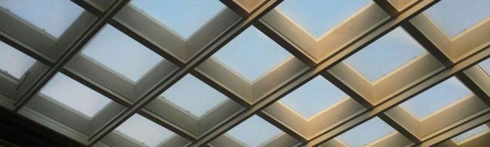 پوشش سقف نورگیر ساختمان