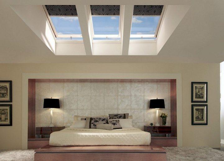 نورگیر اتاق خواب