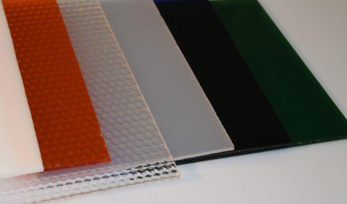 انواع ورق های پلی کربنات