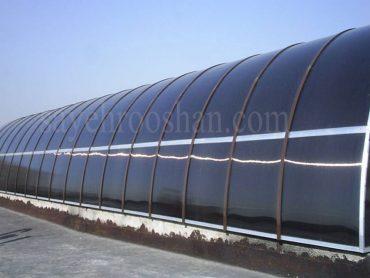 پوشش گلخانه پلی کربنات