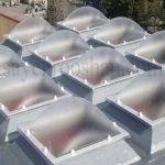 نورگیر حبابی بهترین پوشش برای حیاط خلوت