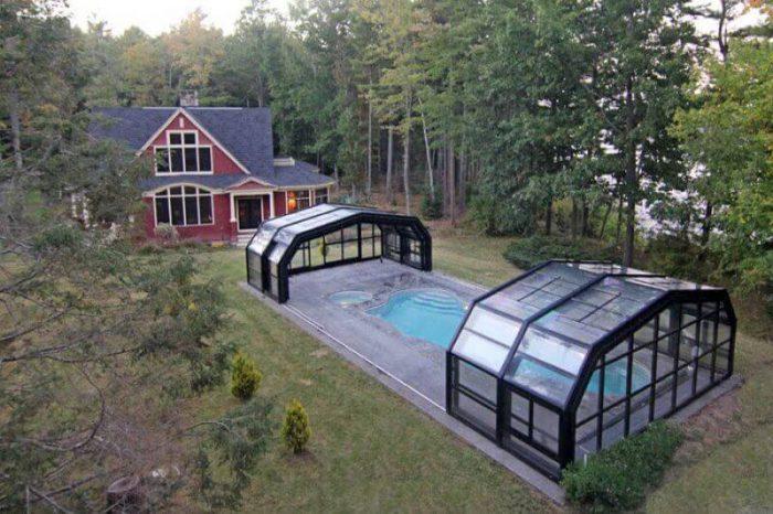 اجرای سقف متحرک استخر؛ انواع و کاربرد سقف های متحرک