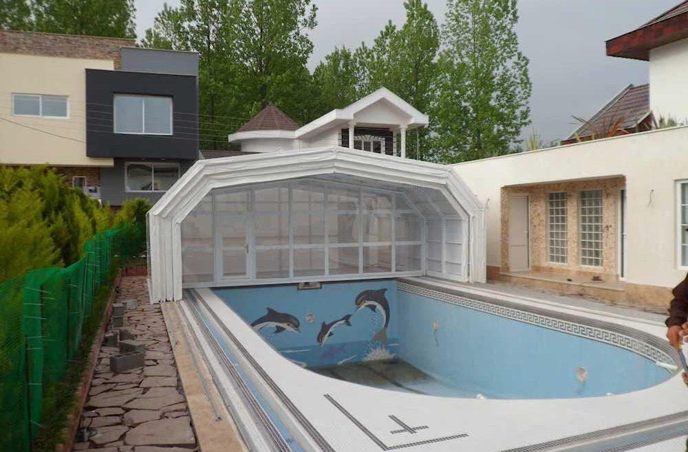 انواع سقف متحرک استخر، از طراحی تا اجرا چگونه است؟