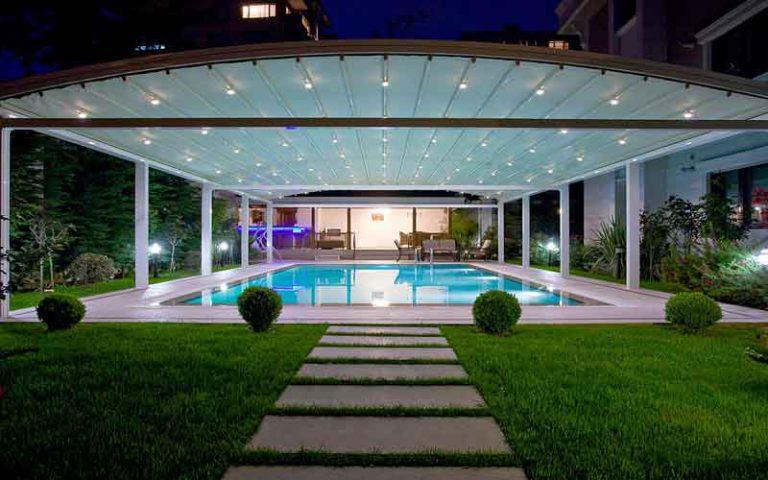 انتخاب سقف متحرک استخر بر اساس آب و هوا