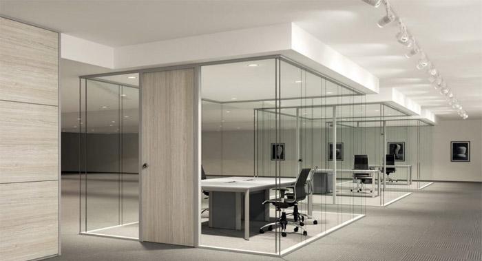 چرا از پارتیشن شیشه ای برای محیط کاری خود استفاده کنیم