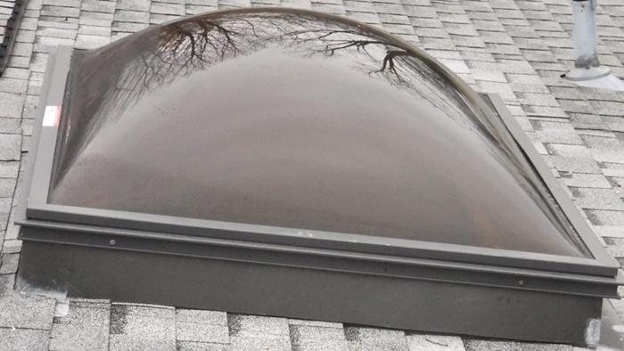 Bubble skylight