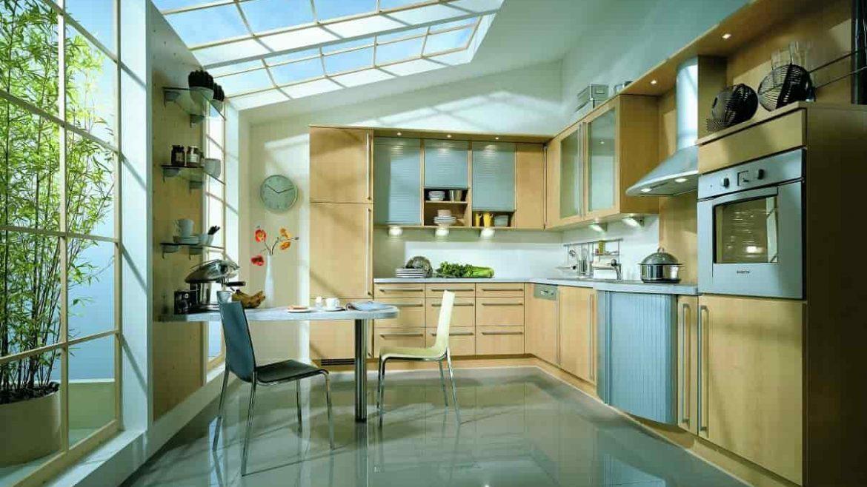 نورگیر سقفی آشپزخانه و انواع آن برای نور سانی بیشتر