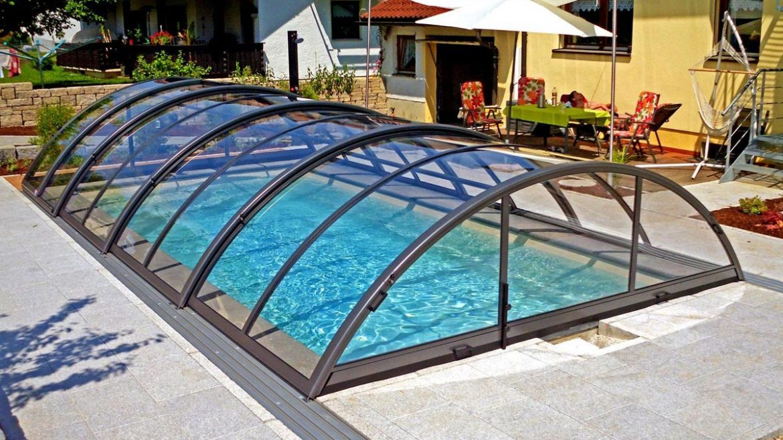 پوشش سقف استخر و مزایای استفاده از آن